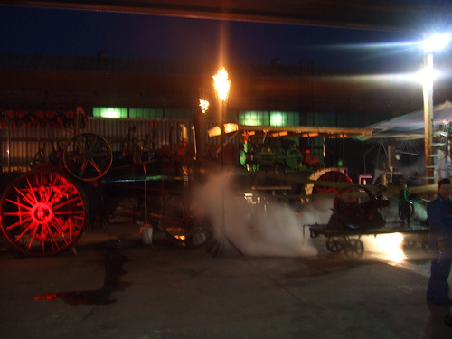 Kinetic Steamworks' main steam engine, which powers their other contraptions