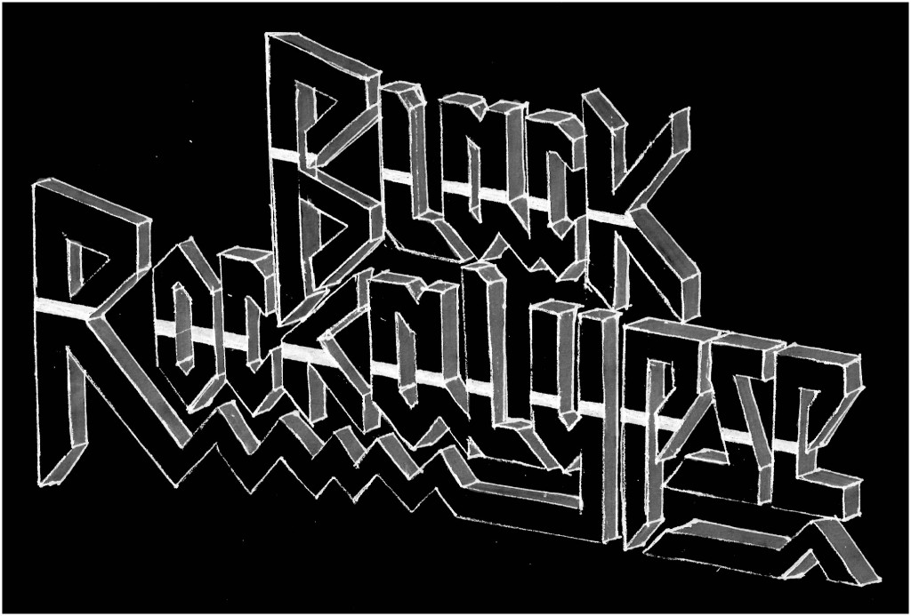 Black Rockalypse Logo By Summer Burkes