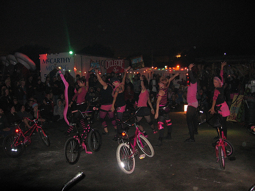 Bike dance troupe originators
