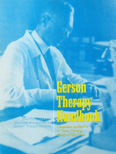 Gerson Therapy Handbook - Paul Doom