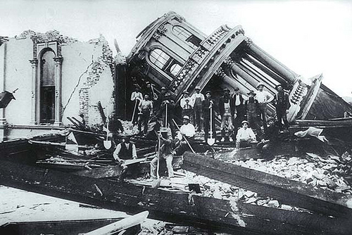 the big SF earthquake