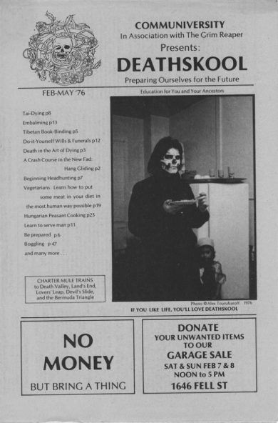 Warne even trolled himself, Communiversity, and the hippy-dippy flower-empowerment movement with this flyer for a fake school#projectmayhem