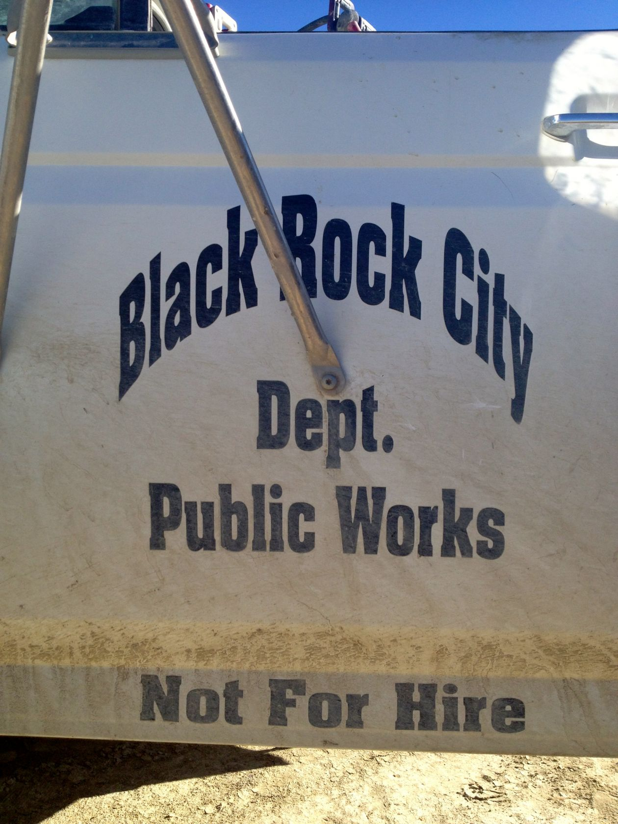 Black Rock City DPW auto shop works long hours to keep the fleet rolling