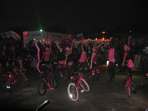 Bike dance troupe originators