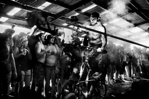 Julie Glas snaps the Black Label Bike Club