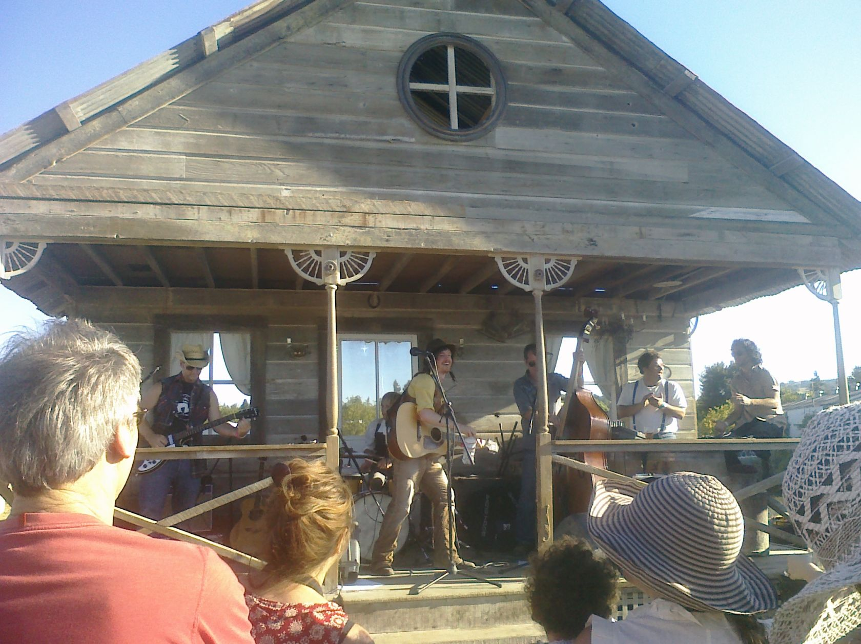 Front Porch - David Luning Band - Petaluma Rivertown Revival 2012. Photo by Summer Burkes