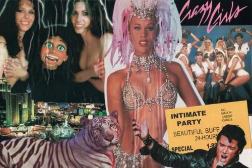 a gluestick flyer collage